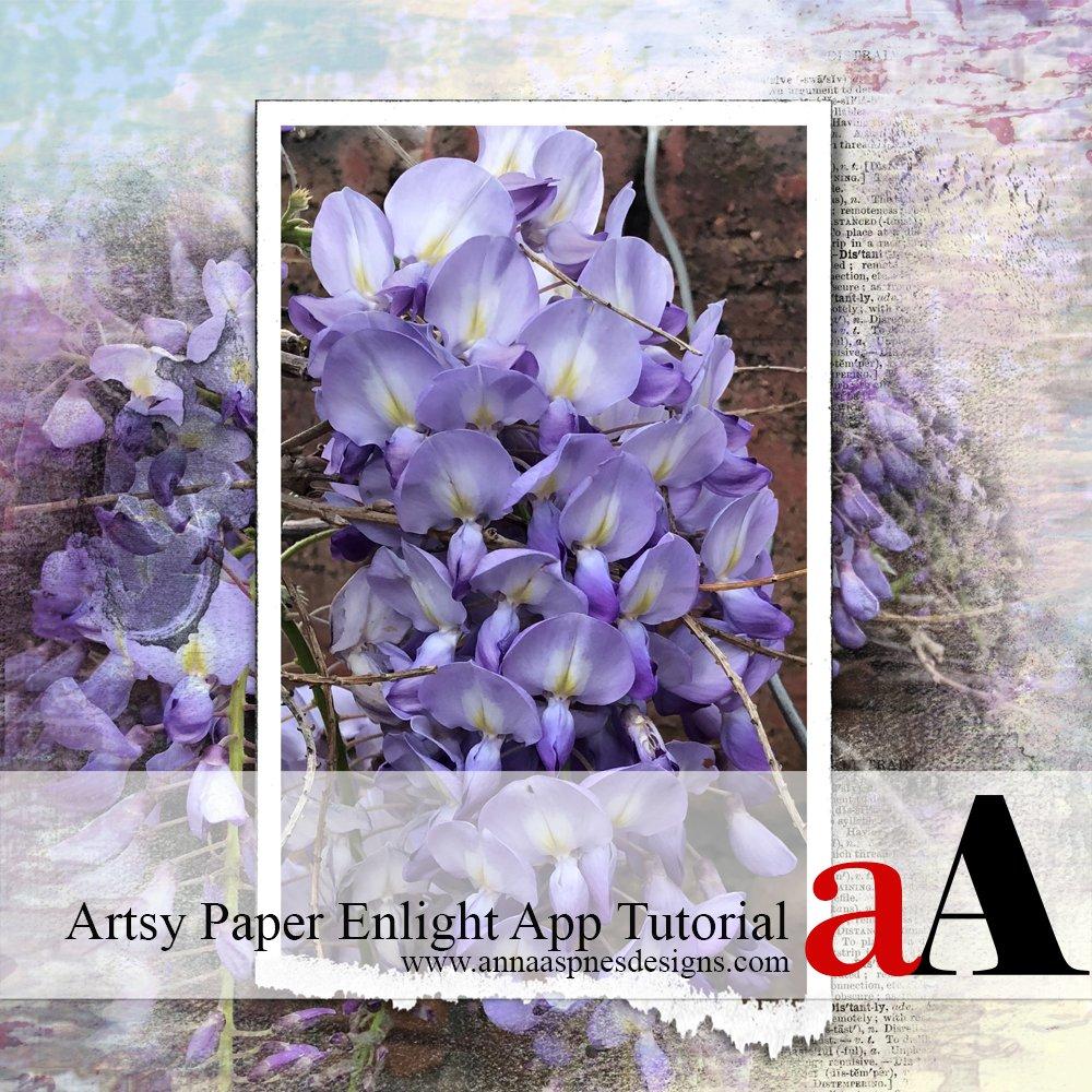 Artsy Paper Enlight App Tutorial