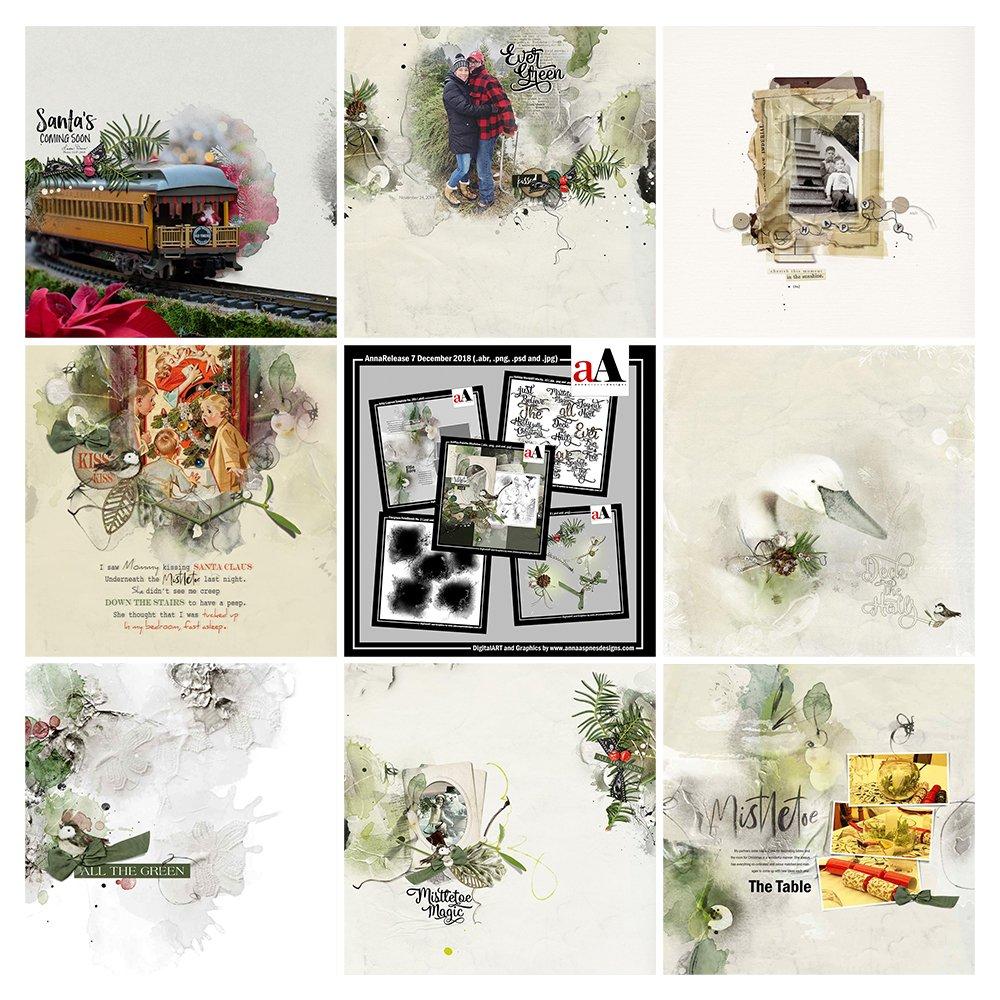 Digital DesignsInspiration Mistletoe