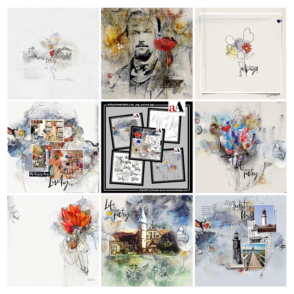 Digital Designs Inspiration Melic