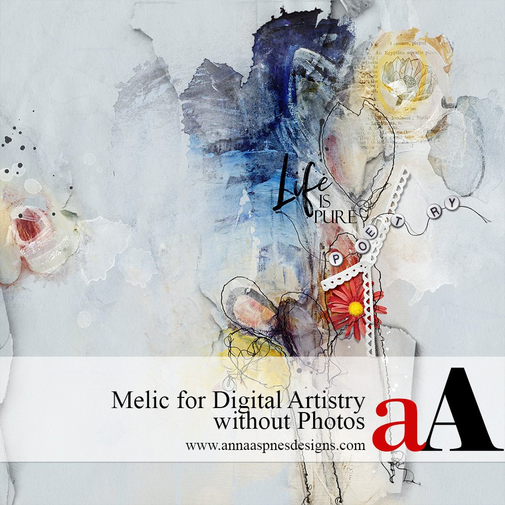 Melic for Digital Artistry without Photos Video
