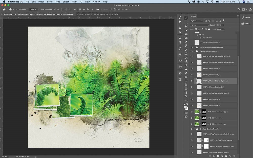 Guide Your Layout Design with Artsy Papers