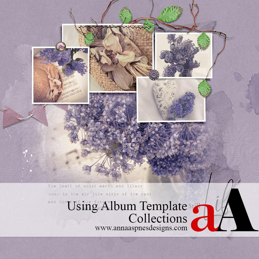 Using Album Template Collections Video.