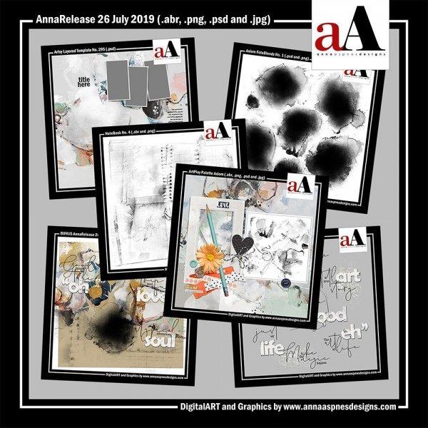 aA DigitalART Store Updates 07-26