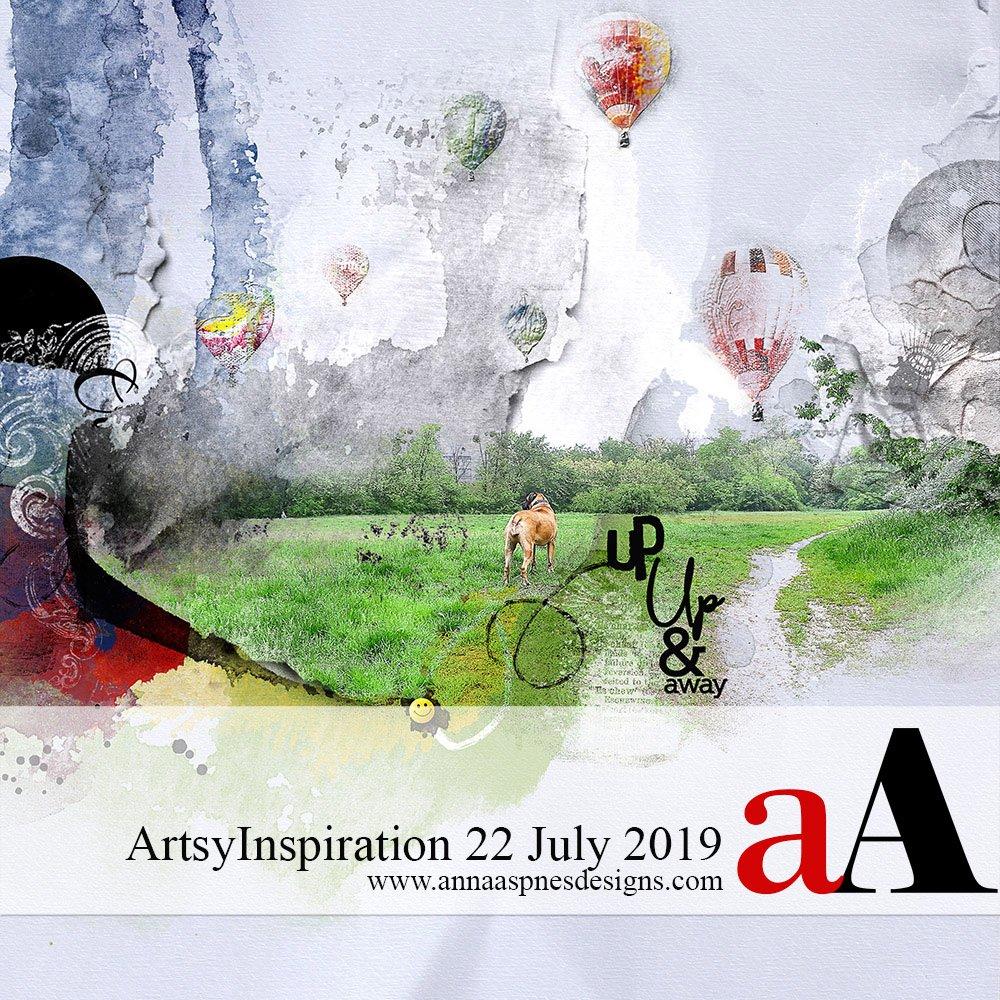 ArtsyInspiration 22 July 2019