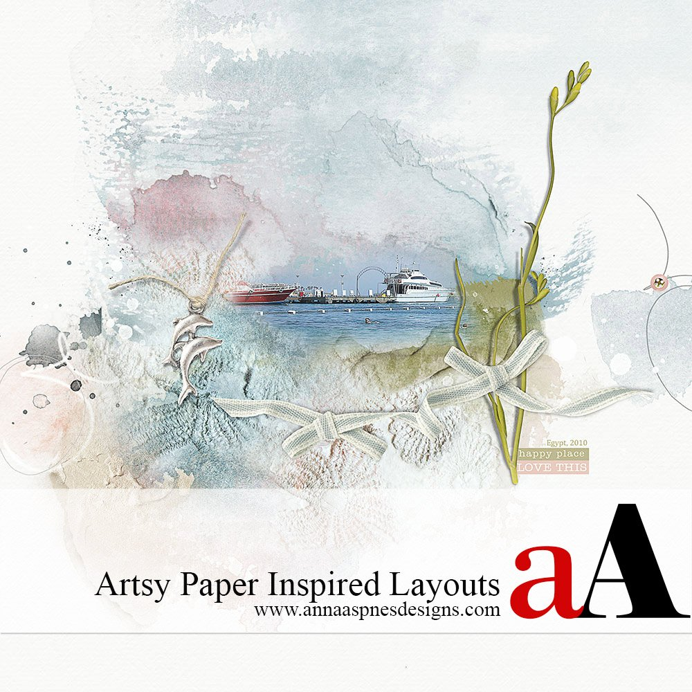 Artsy Paper Inspired Scrapbooking