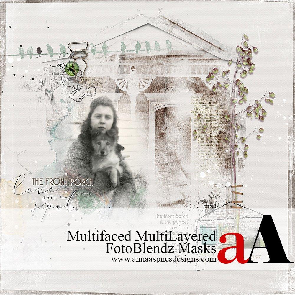 Multifaceted MultiLayered FotoBlendz Masks
