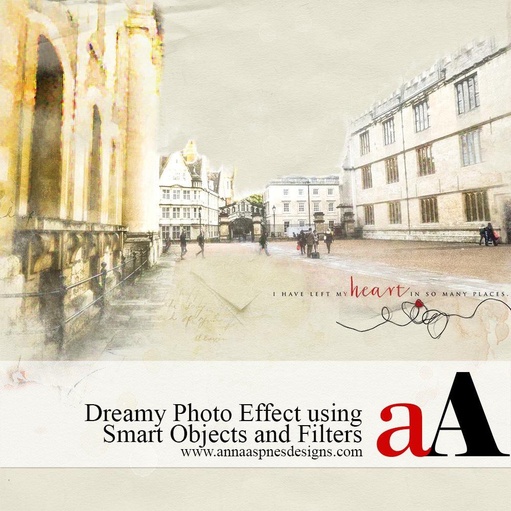 Dreamy Photo Effect using Smart Objects