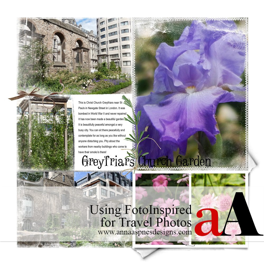Using FotoInspired for Travel Photos