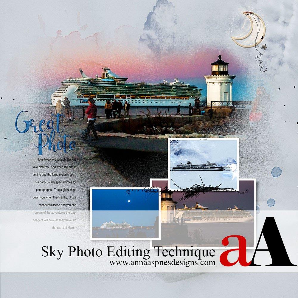 Sky Photo Editing Technique
