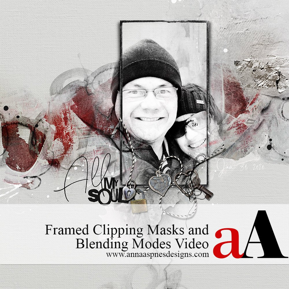 Framed Clipping Masks and Blending Modes Video