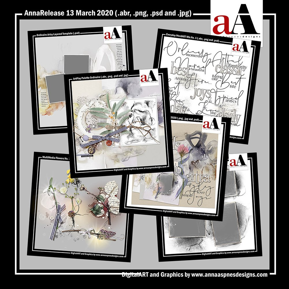 aA DigitalART Store Updates 03-13