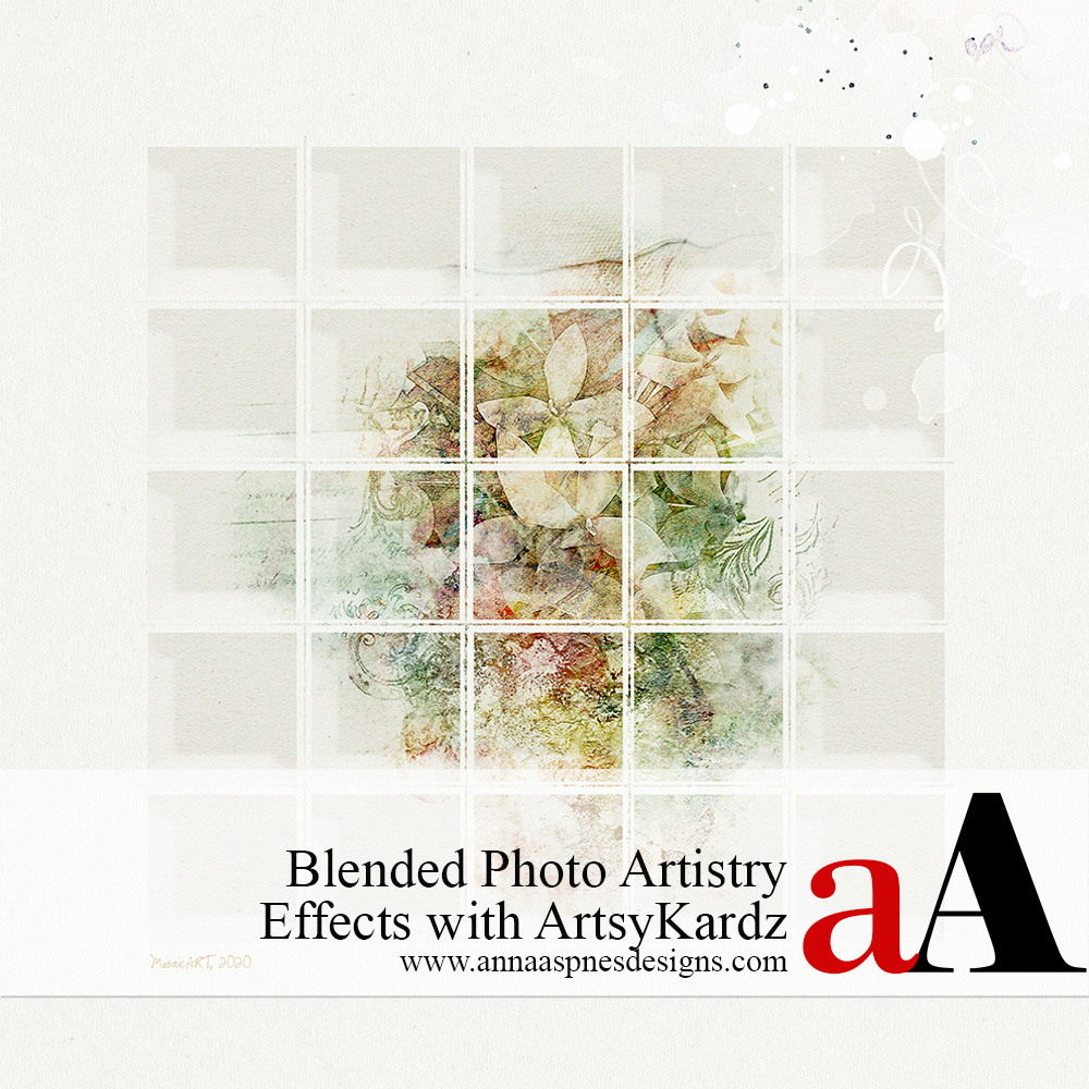 Blended Photo Artistry Effects with ArtsyKardz