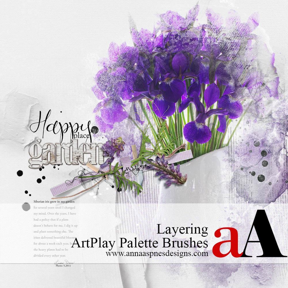 Layering ArtPlay Palette Brushes