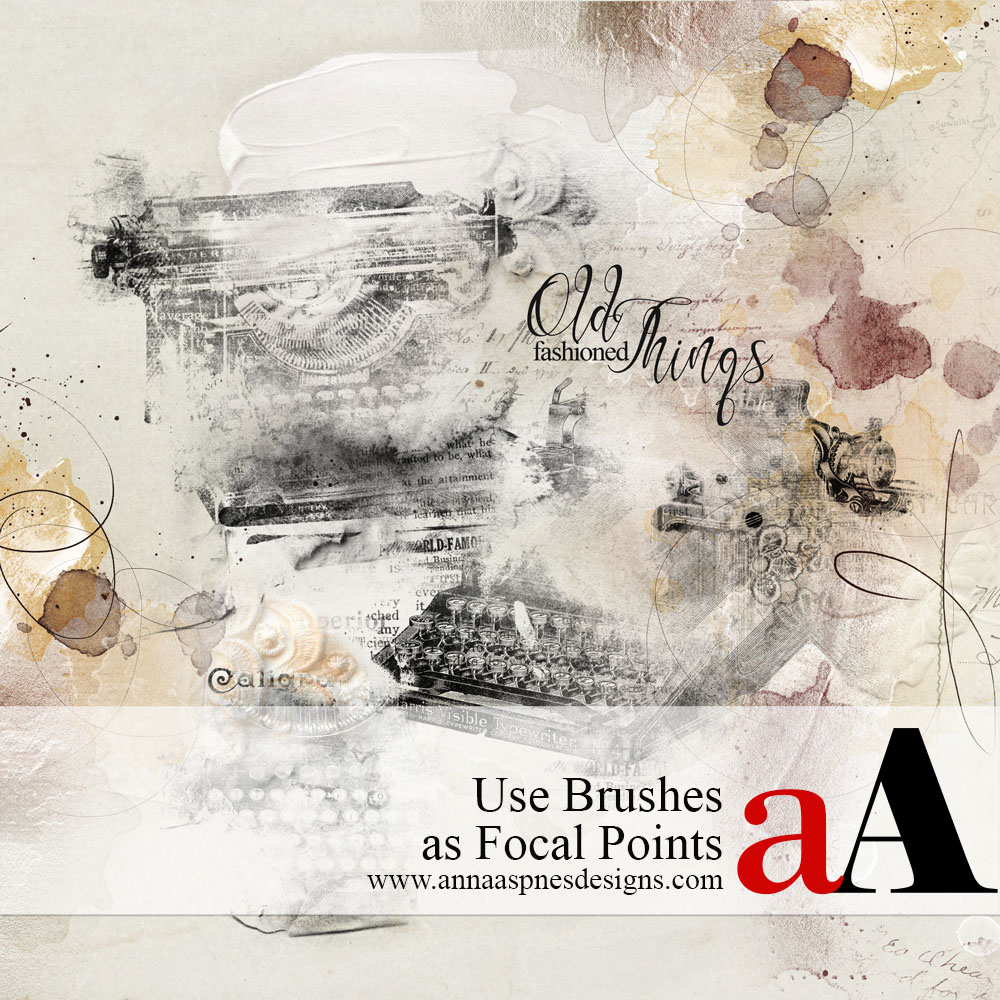 Use Brushes as Focal Points