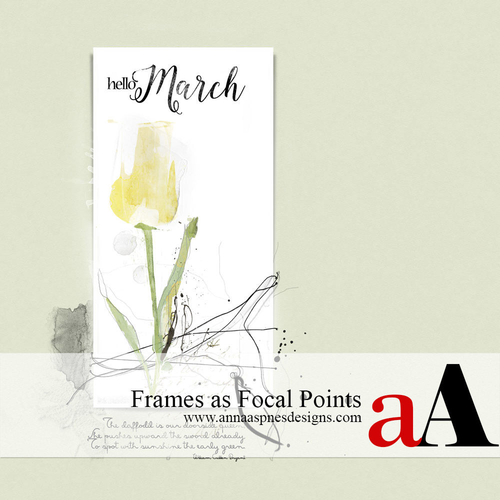 Frames as Focal Points
