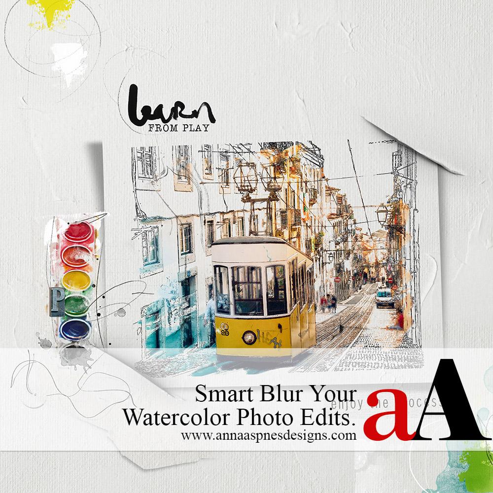 Smart Blur Your Watercolor Photo Edits