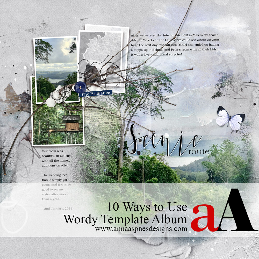 10 Ways to Use Wordy Template Album