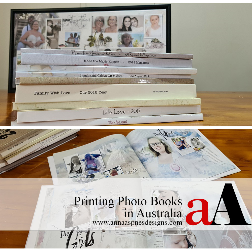 Printing Photo Books in Australia