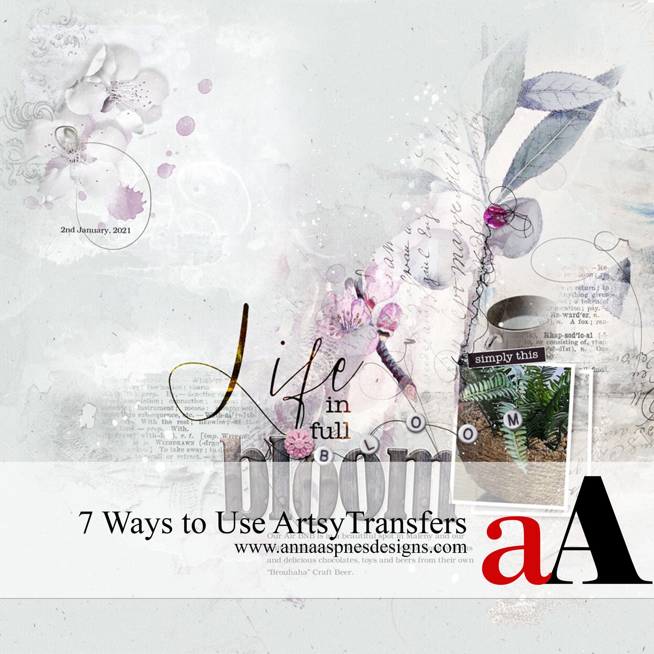 7 Ways to Use ArtsyTransfers
