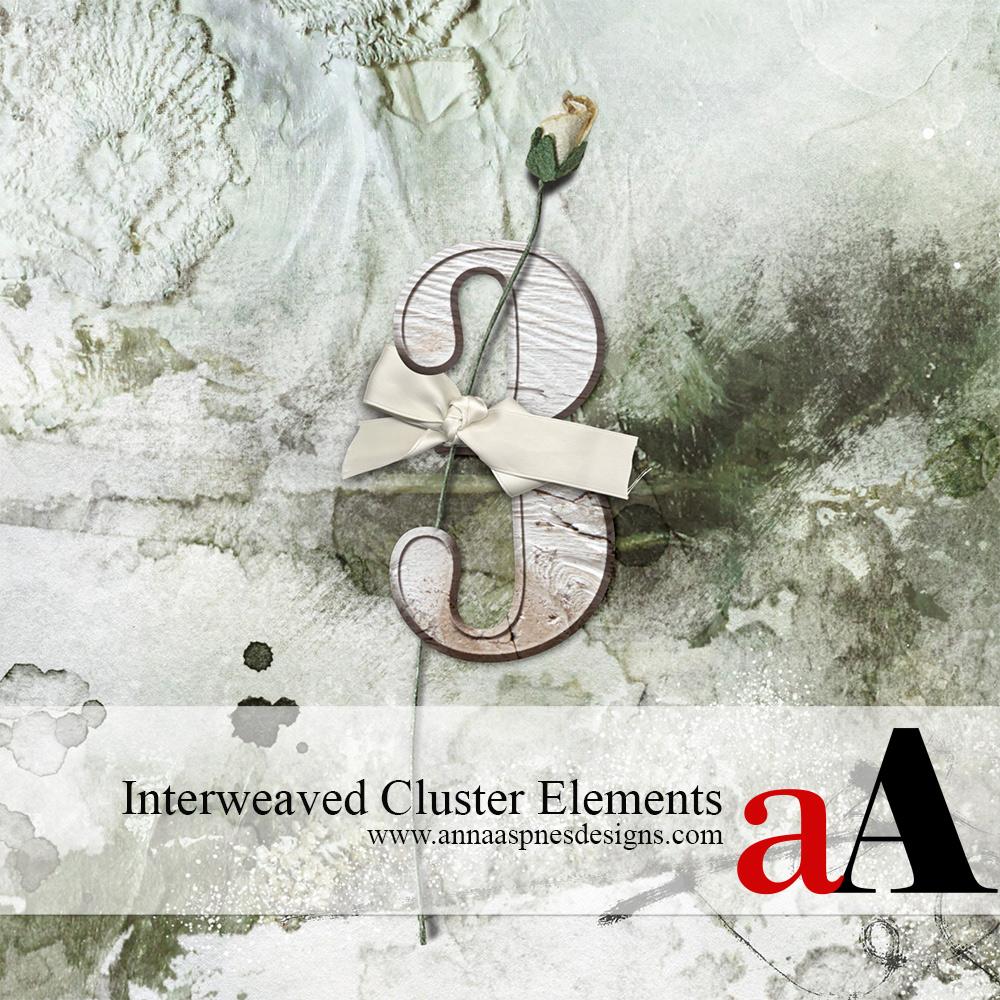 Interweaved Cluster Elements