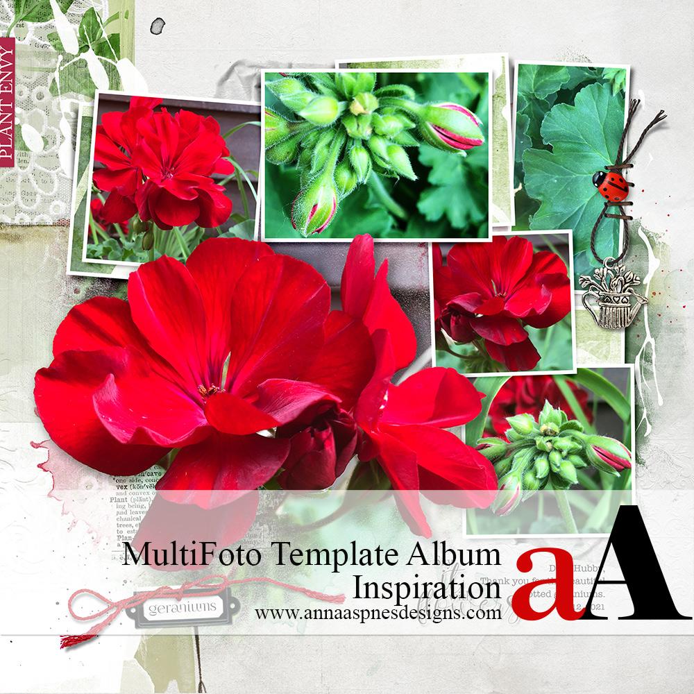 MultiFoto Template Album Inspiration