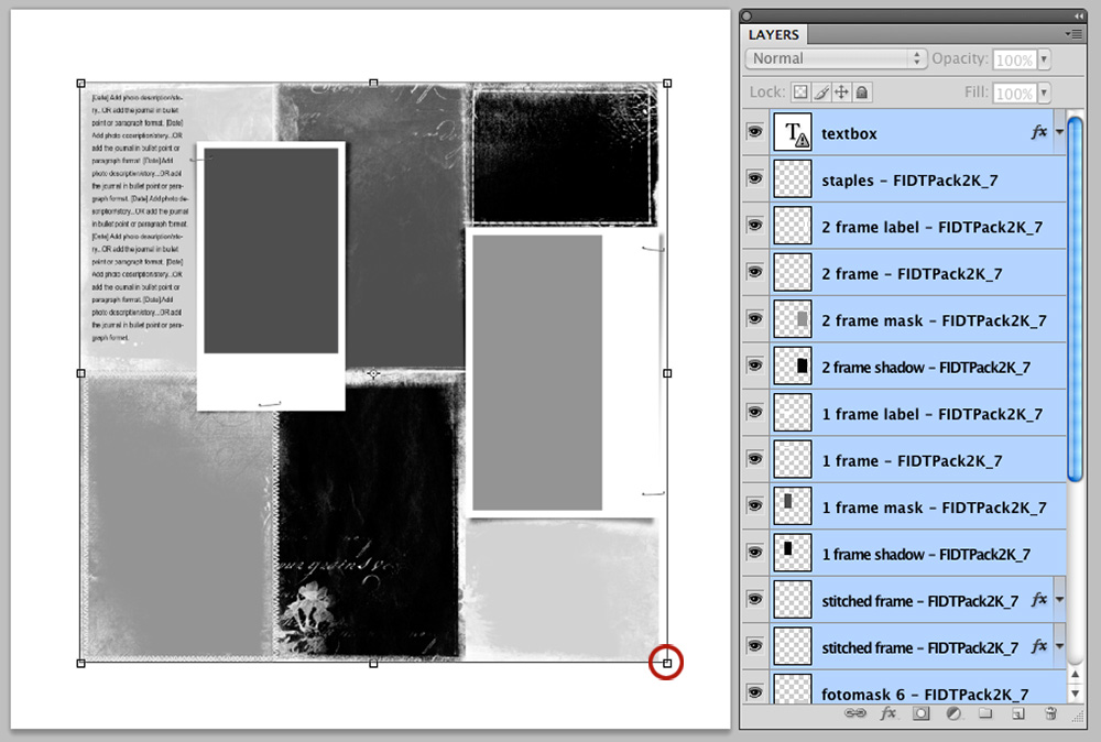 Extraction Focal Points with FotoInspired Templates