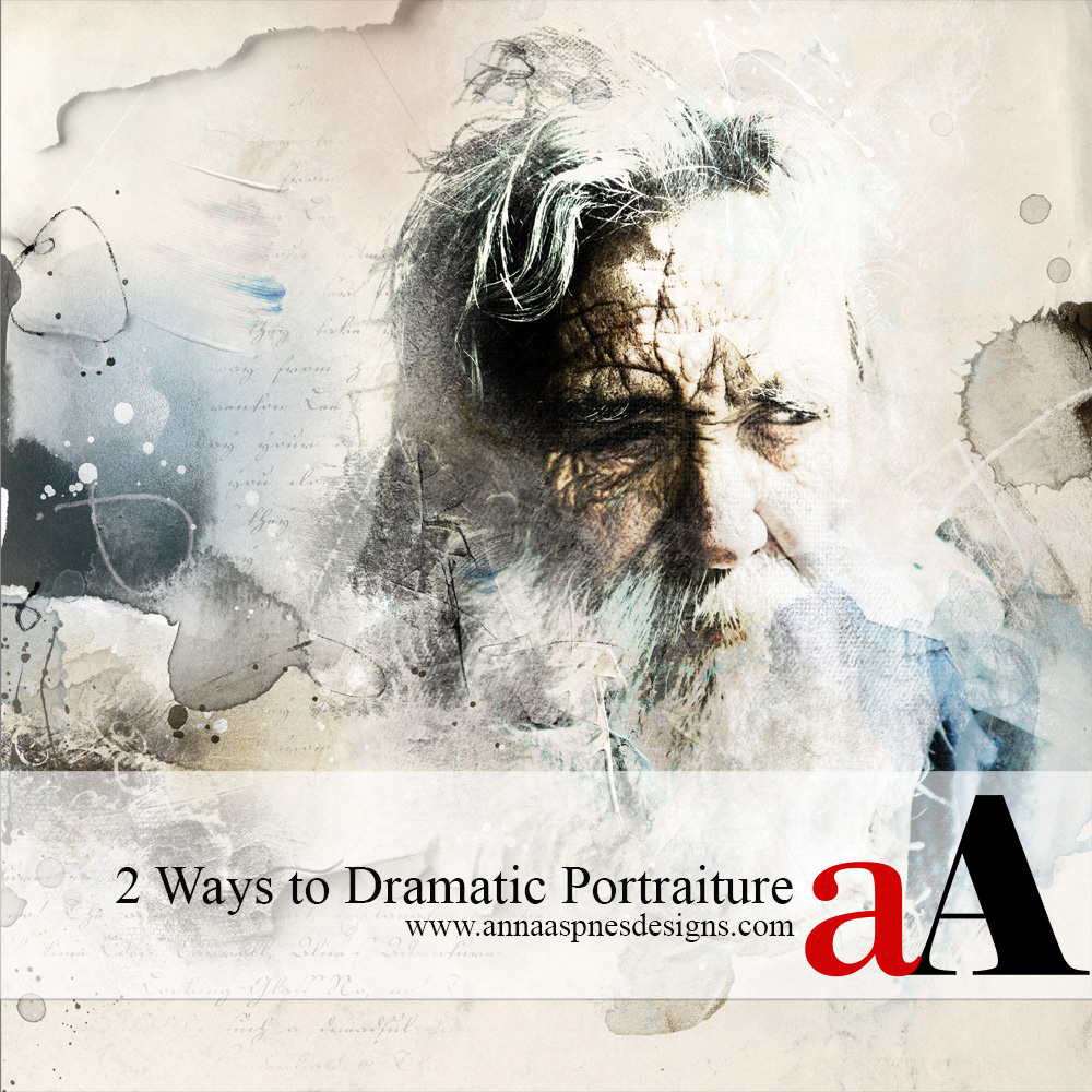 2 Ways to Dramatic Portraiture