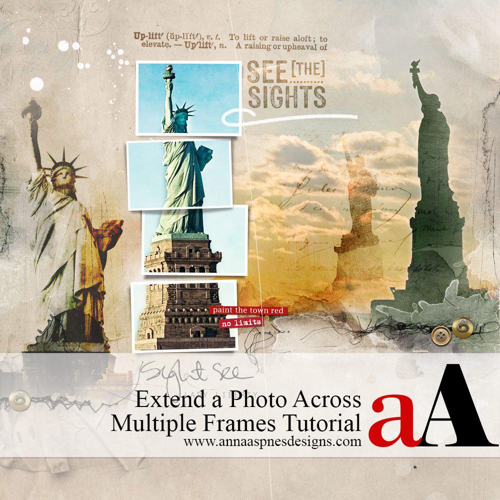Extend a Photo Across Multiple Frames