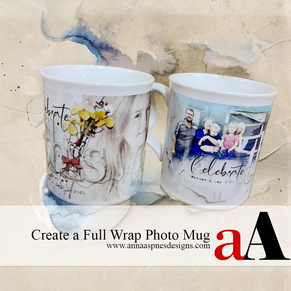 Create a Full Wrap Photo Mug
