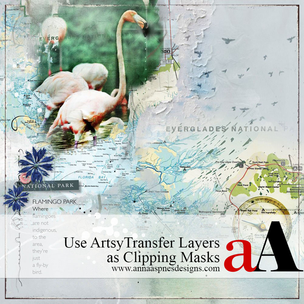 Use ArtsyTransfer Layers as Clipping Masks
