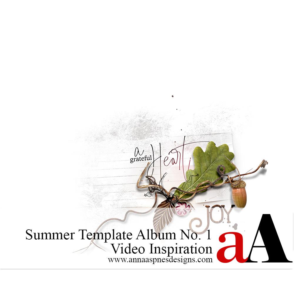 Summer Template Album No. 1 Video Inspiration