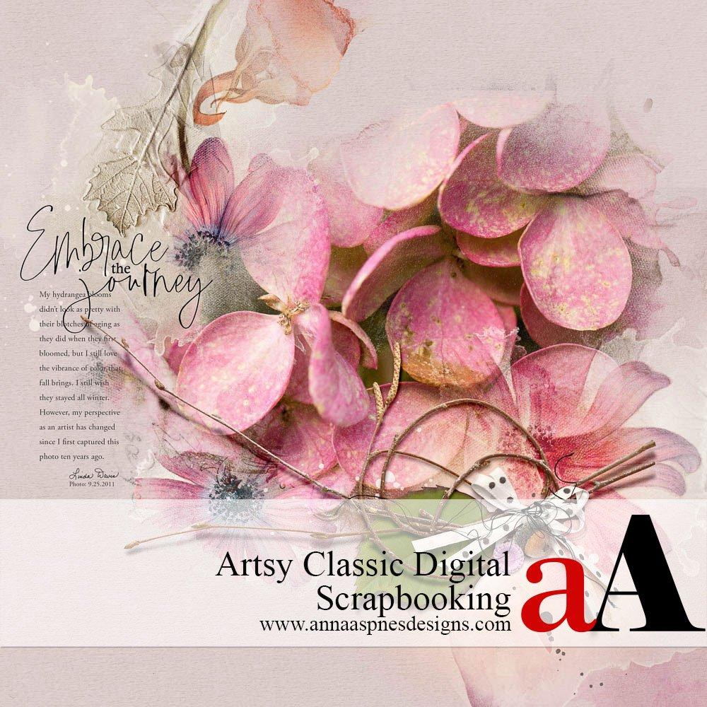 Artsy Classic Digital Scrapbooking